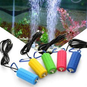 Portable USB Aquarium Fish Tank Oxygen Air Pump Mute Energy Saving Supplies Tube