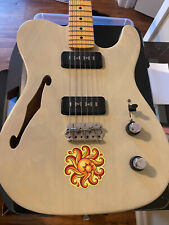 Loaded Warmoth telecaster thinline body - Lollar Staple Pu's roasted swamp ash