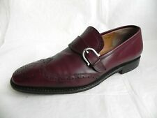Salvatore Ferragamo Brogues Mens Leather Shoes size 7,5 EE