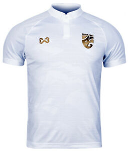 100% Original 2020 Thailand National Team Football Soccer Jersey Shirt White