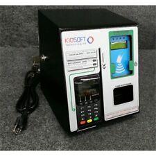 KioSoft CleanPay Credit Card Payment Kiosk Laundry Terminal, Emv Chip, Locking*