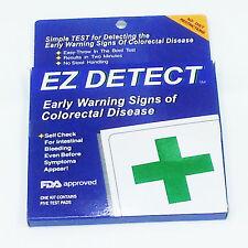 EZ Detect Colon Disease Test  at Home G.Colitis Polyps Adenoma Colon Cancer