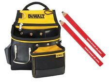 Dewalt DWST1-75652 Hammer and Nail Pouch + 2 Trend Carpenters Pencils