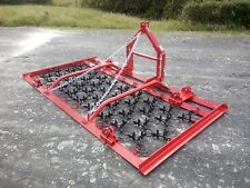 More details for mounted chain harrow/grass harrow 3.1m manual fold heavy duty for small tractors