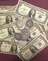 1935 Silver Certificate & 1878-1904 MORGAN SILVER DOLLAR 90% SILVER!