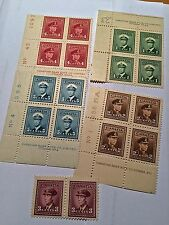 """Collection of CANADA Postage Stamps - """"War Issue""""   (Blocks)"""
