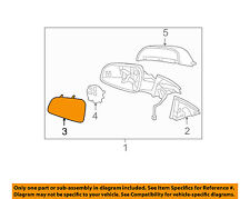 GM OEM Outside Mirrors-Front Door-Mirror Glass Right 15902388
