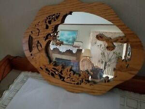 Mirror, Framed;  Forest Critters