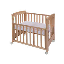 Cot Bed Dreamy Mini Natural 1130 + 5958 Treppy