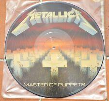 Vinyl Metallica Master of Puppets Original UK Press