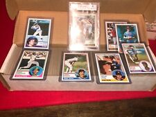 1983 topps baseball complete set tony gwynn rookie bgs 8🔥🔥🔥🔥