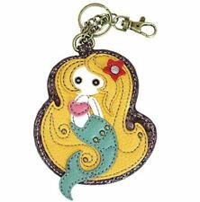 New Chala Purse Bag Charm Clip On Key Ring Fob MERMAID Coin Purse gift