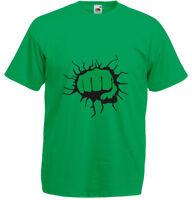 Hulk Fist, Men's Printed T-Shirt New Casual 100 % Cotton Tee Sale Crew Neck