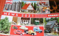 Busch NEWS 2021 Prospekt Neuheiten Neu