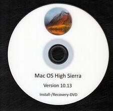 Apple Mac OS High Sierra 10.13 DVD Software Install-/Recovery-DVD