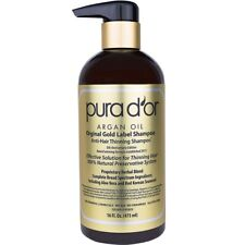 PURA D'OR Dor Original Gold Label Anti-Hair Thinning Shampoo w/Organic Argan Oil