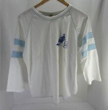 Vtg 1980s Peanut Butter Fashions Horse Barrel Racing 3/4 Sleeve T Shirt Xl Blue