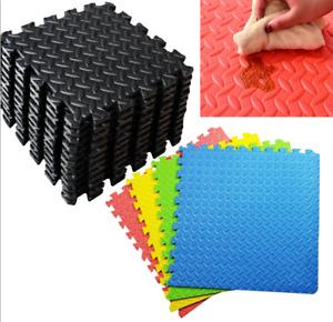 Quality Eva Olive Interlocking Large Soft Foam Play Mats 60 cm  Floor Activity