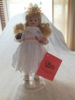 Paradise Galleries Porcelain Doll Treasure Collection Sunday's Child