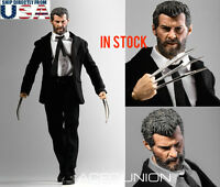 1/6 Logan Wolverine Custom Figure Full Set with Claws For Hugh Jackman X-MEN USA