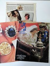 2 Vintage Sunday Express Souvenir Magazines Charles & Diana Wedding + add insert