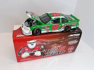 Bobby Labonte #18 Interstate/ Coca-Cola Polar Bear 2001 NASCAR 1:24 DieCast NIB