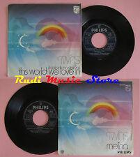 LP 45 7'' TWINS This world we love in il cielo in una stanza Melina(*) cd mc dvd