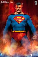 SIDESHOW SUPERMAN COMIC PREMIUM FORMAT FIGURE STATUE EXCLUSIVE VERSION DC