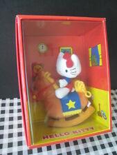 2000 Sanrio Japan rocking horse VIVITIX Hello Kitty Doll Plush Figures NEW