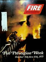 Fire Engineering Magazine September 1975 Fire Prevention Week NYC Fire Cover