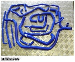 Ford Focus Mk1 RS 15 piece Ancillary Silicone Hose Kit Roose Motorsport