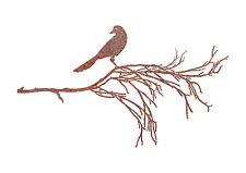 Bird Branch 3 Garden Wall Art - Australian Made