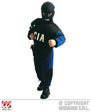 Enfants Police CIA Fantaisie Robe Costume Outfit 140Cm américain