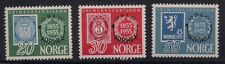 Norway 1955 Sc # 340-42 Ovpt. Mnh (46197)