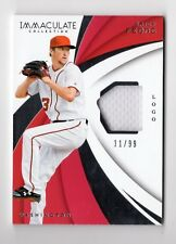 ERICK FEDDE MLB 2018 IMMACULATE COLLECTION IMMACULATE SWATCHES /99 (NATIONALS)