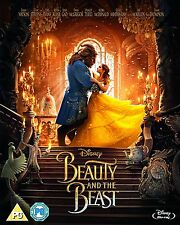 Beauty & The Beast Blu-ray 2017 with Foil slipcase