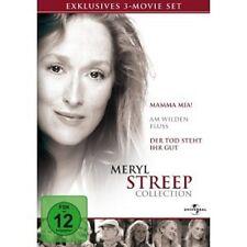 MERYL STREEP (MAMMA MIA,WILDER FLUSS,TOD STEHT IHR GUT)3 DVD NEU MERYL STREEP