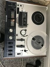 Akai 4000DB Reel to Reel Tape recorder with rare dolby noise reduction. 1970s.