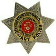 MARINE CORPS MCAS YUMA MILITARY POLICE BADGE PIN