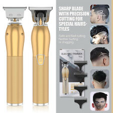 2021 Electric Hair Clipper Cordless 0 Gapped Oil Trimmer Mens Grooming Kit L2825