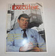 Government Executive Magazine Export Expert Fox April 1981 FAA 110216R