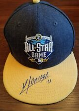 YOAN MONCADA Autographed JSA Certified 2016 All Star MVP New Era Hat White Sox