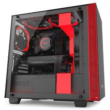 Nzxt - H400i torre negro rojo carcasa de ordenador