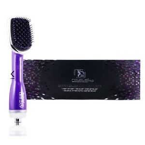 Royale USA 3 in 1 Drying Brush, Styler, & Detangler - Purple RBB03 See Pictures