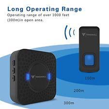 New Wireless Waterproof Doorbell Cordless Loud Long Range Front Home 1000 Feet