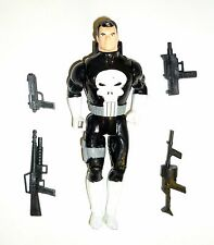 "MARVEL SUPERHEROES THE PUNISHER Vintage Marvel Figure Toy Biz 5"" COMPLETE 1990"