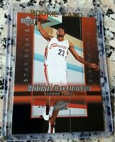 LEBRON JAMES 2003 Upper Deck #1 Draft Pick Star Rookie Card RC Lakers Cavs MVP $