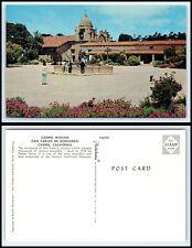 CALIFORNIA Postcard - Carmel Mission O20