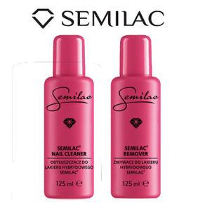 Semilac Hybrid Manicure Nail Gel Polish Remover, Acetone 125 ml