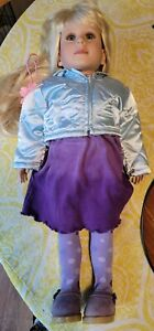 "Beautiful Vintage 1997 My Twinn Doll Blonde Blue Eyes 23"" W/Outfit"